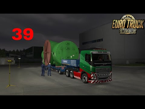 Let's Play Euro Truck Simulator 2 - Italia DLC Part 39 Special Transport Industrial Condenser