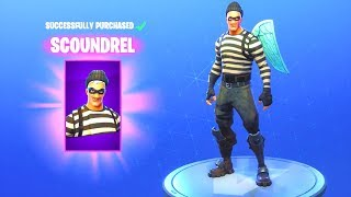 SCOUNDREL/RAPSCALLION SKIN!! Fortnite Bataille Royale