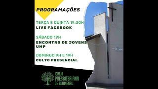 Culto Vespertino   22.11.2020   Pb. Ricardo Rebello