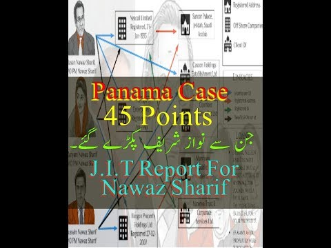jit Report Main Points For Nawaz Sharif in Panama Corruption Case in Supreme Court