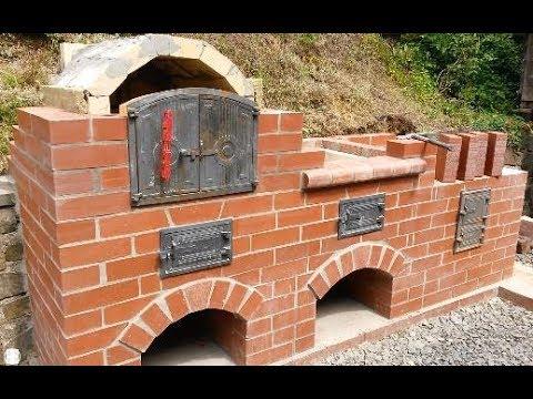 Brick BBQ stove and oven summer projekt pt. 3
