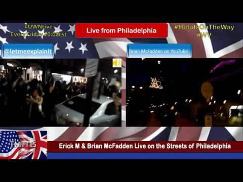 Erick M & Brian McFadden Live on the Streets of Philadelphia
