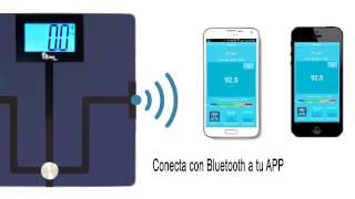 Báscula con Bluetooth Fitme Pro