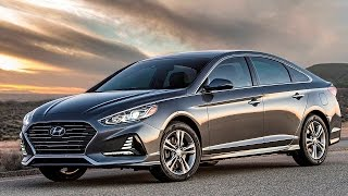 Hyundai Sonata 2018 - Interior and exterior