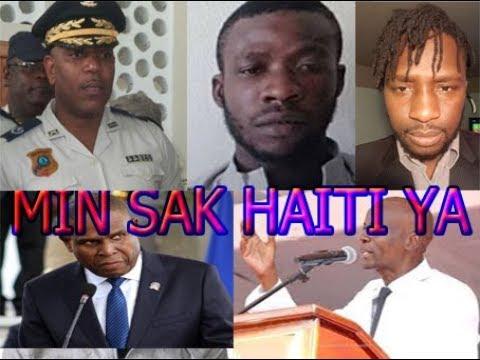 BANDI ANEL FÈ DG YA CACHE BAY 600 MILLIONS $ POU LI JOVENEL M  CEANT NEWS HAITI