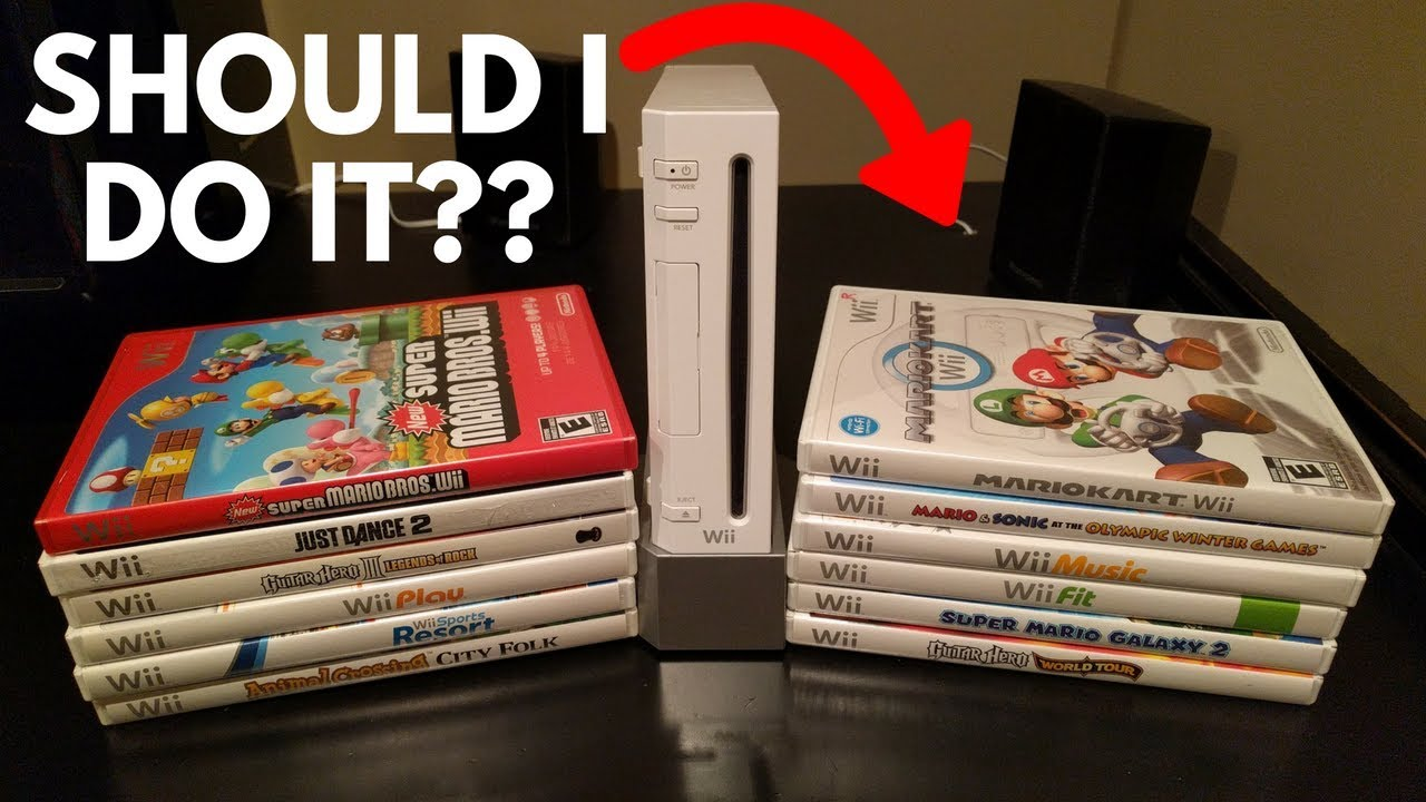 Trading In My Entire Wii Collection How Much Will
