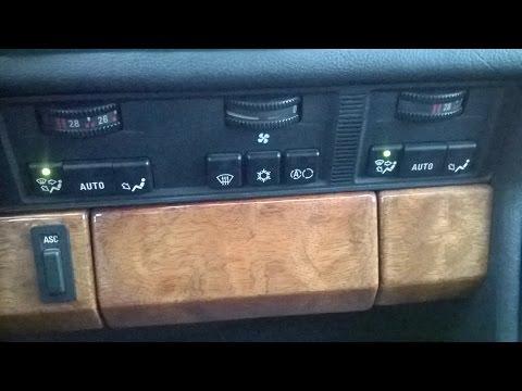 BMW E32 / BMW E34 / Ремонт печки фирмы BEHR