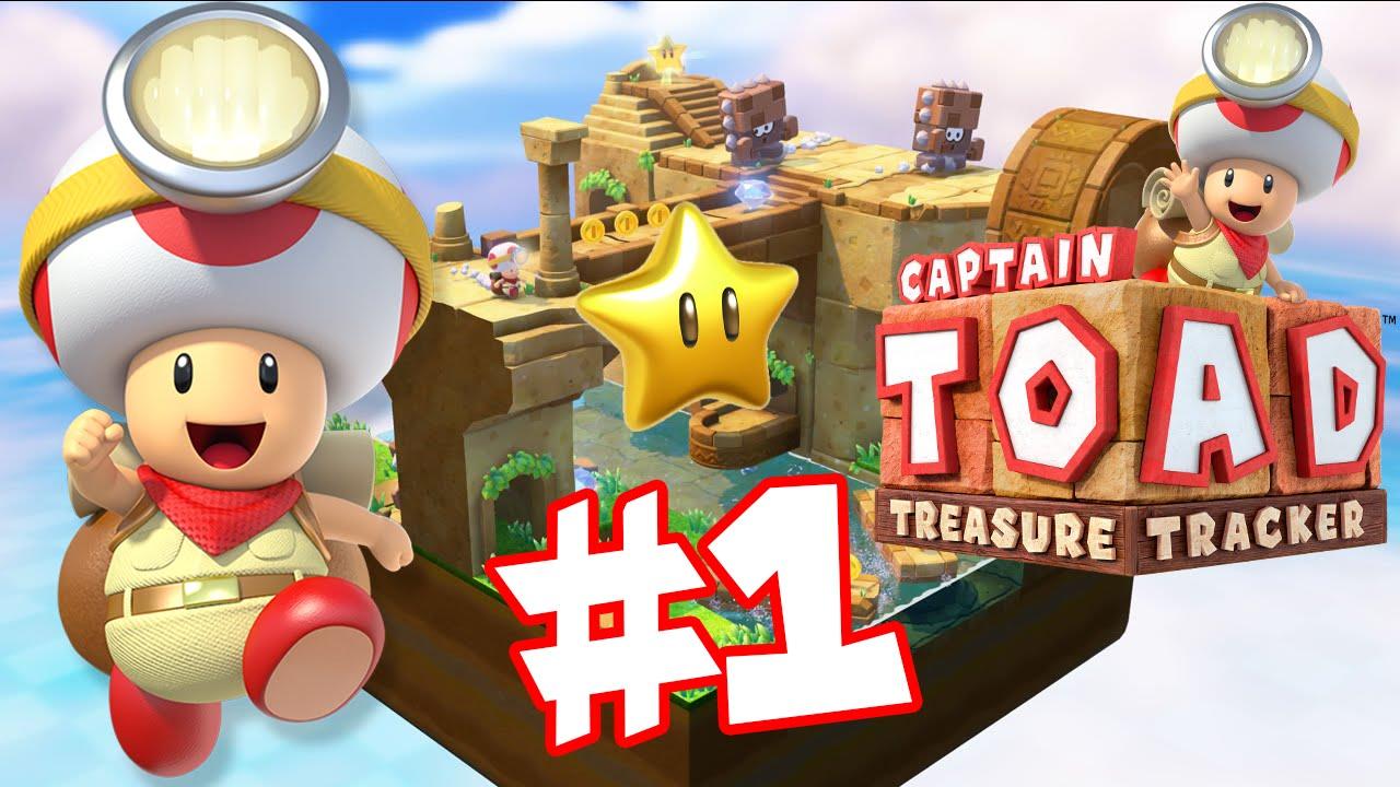 Abm captain toad treasure tracker walkthrough 1 episode 1 hd