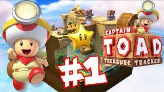 ABM: *Captain Toad Treasure Tracker* Walkthrough 1 *Episode 1* HD