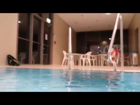 Sony Xperia Z3 Compact Tablet Water Test in Swimming Pool [Full HD 1080p]