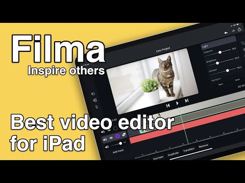Filma - Inspire others (video editor for iPad)