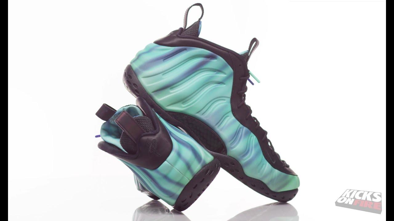 7777ce632b5 Sneakers In 4K - Nike Air Foamposite One Premium Northern Lights (360° Look)