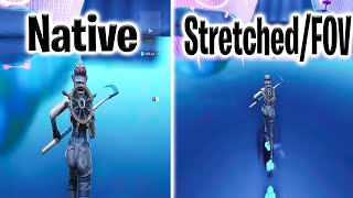 How To Get Stretched/FOV On Console Fortnite?? ( The Truth )