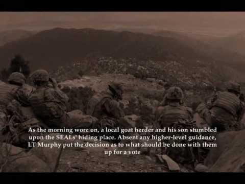 Lt Michael Patrick Murphy Tribute (Operation Redwing) Lone Survivor