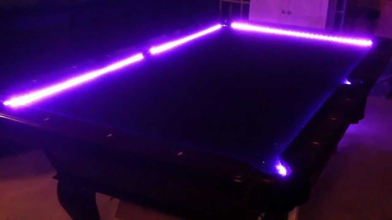 Perfect Led Pool Table Kit   YouTube