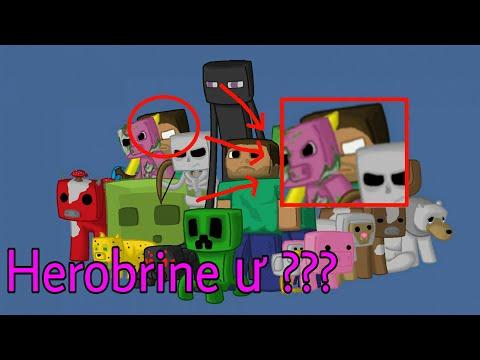 Top 5 Thứ Đã Được Mojang Bí Mật Thêm Vào Minecraft - Người Đàn Ông Mắt Trắng