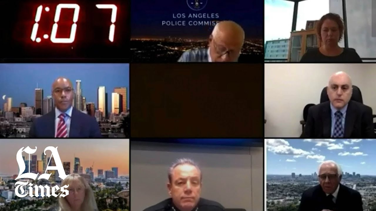 Download Listen to L.A. residents express outrage to Police Chief Michel Moore