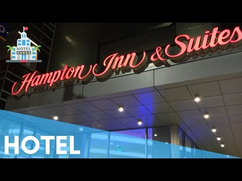 HAMPTON INN SUITES SANTA MONICA 👌 HOTEL AND ROOM TOUR POOL