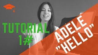 TUTORIAL #01 Woche / Gesangsunterricht für ANFÄNGER / Adele - Hello / Singen lernen (warm up)