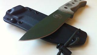Revue et test du couteau Esee 5 - incassable !