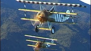Fokker Dr.1 Triplanes in formation