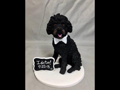 poodle-wedding-cake-topper