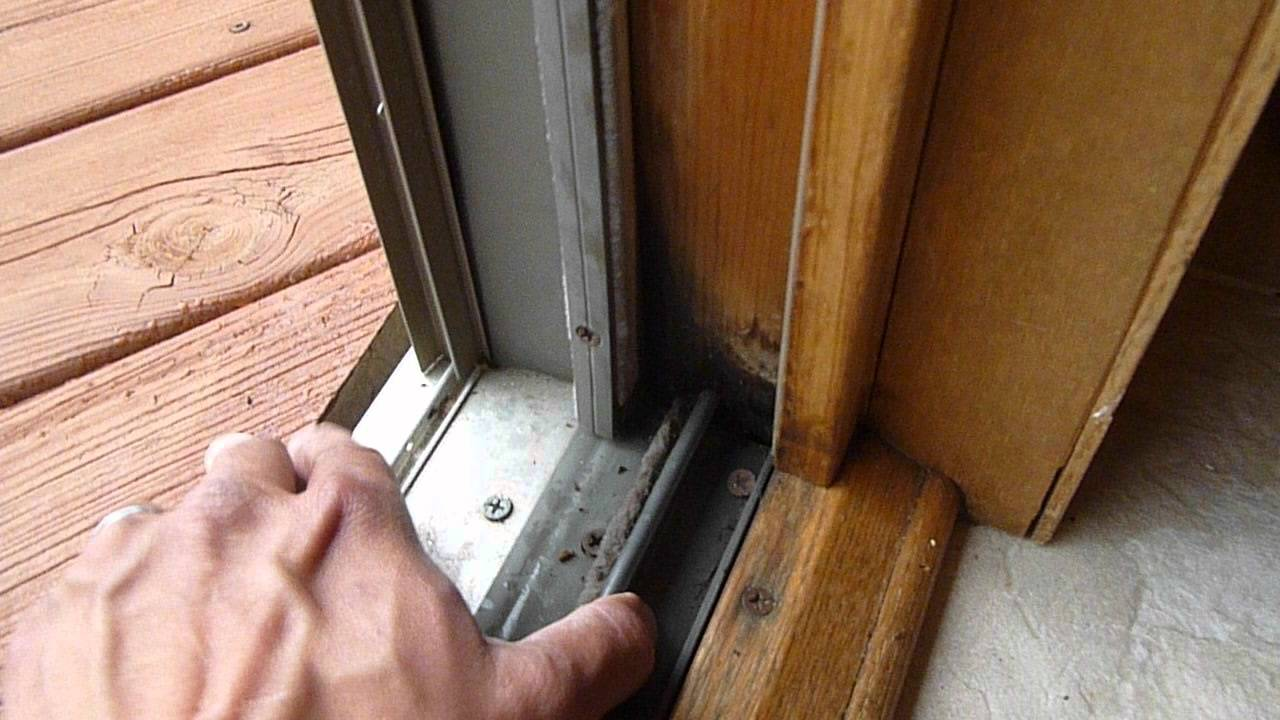 Rotten Patio Door Sill Rosemount Mn Youtube