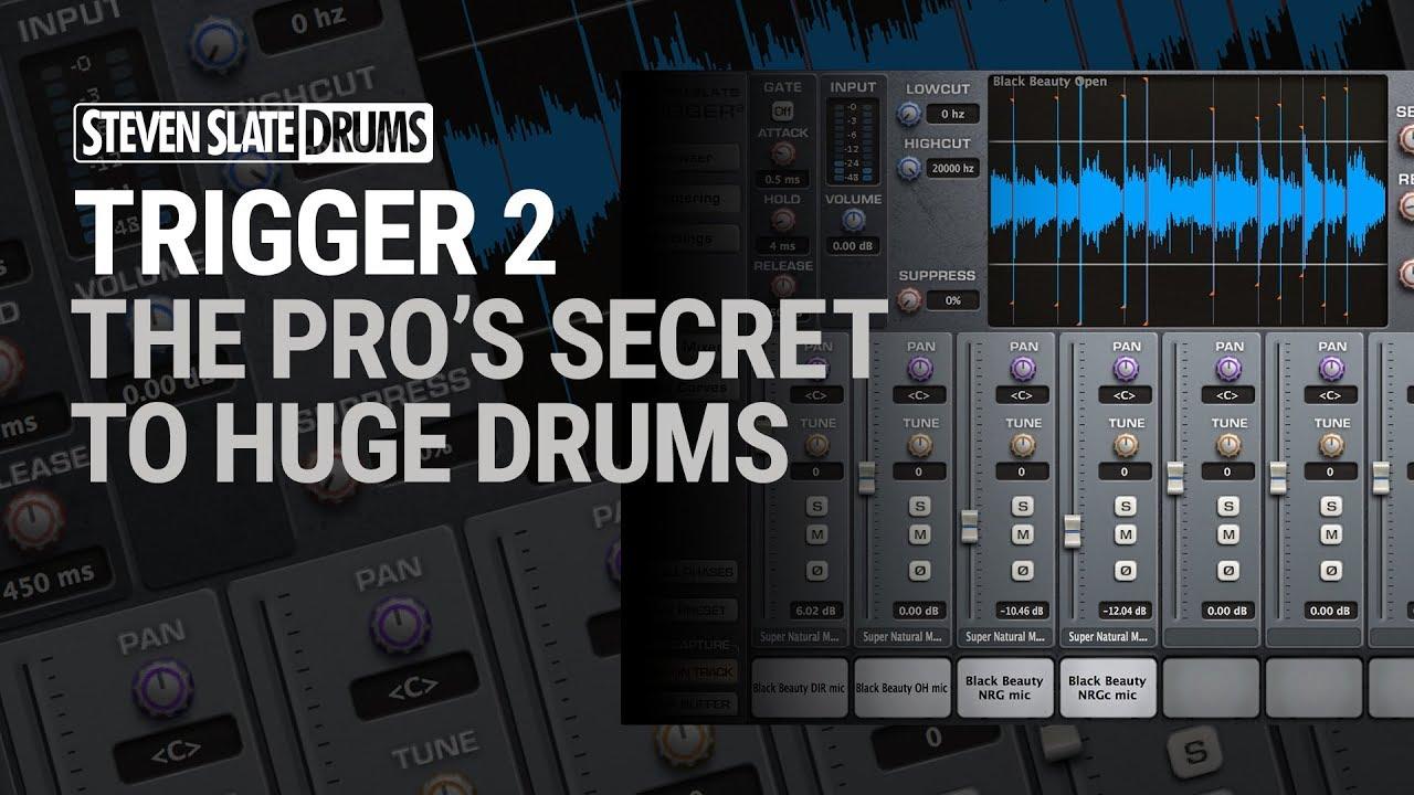 SLATE DIGITAL – STEVEN SLATE DRUMS TRIGGER 2 Platinum – Drum