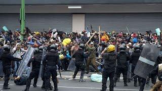 Hundreds Killed In Brutal Pro-Something-Anti-Something Clash