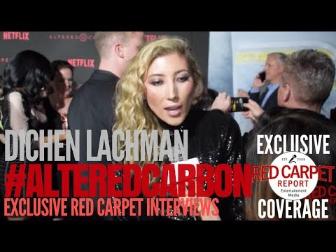 Dichen Lachman ed at Premiere of Netflix's AlteredCarbon NowStreaming AltCarb