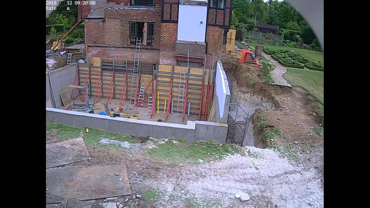 Basement Self Build Guildford Surrey
