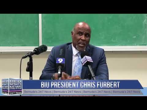 BIU President Chris Furbert, April 23 2019