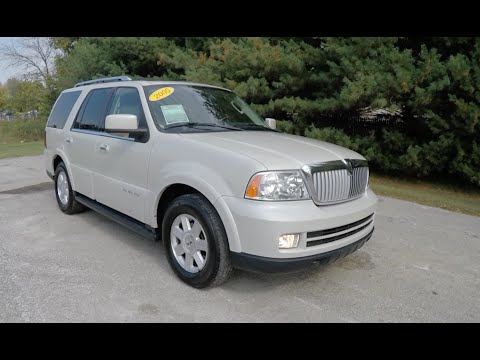 2005 Lincoln Navigator Ultimate 4X4|P10445B