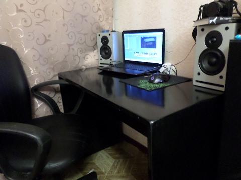 Компьютерный стол с надстройкой и комодом на заказ - YouTube
