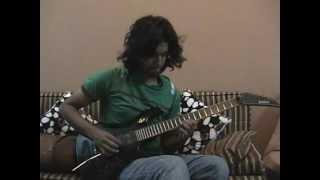 Aaban Kazmi - National Anthem (Solo rock Version) Electric Guitar