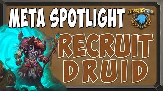 [hearthstone ita] il recruit druid! [boscotetro post nerf]