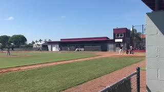 Adrian Valdes LHP 2022. Flanagan JV Baseball Vs Stoneman Douglas.