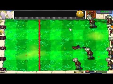 Plants vs zombies (Trồng cây bắn zombie) - Cấp độ 1-5 (Game Việt Hóa)
