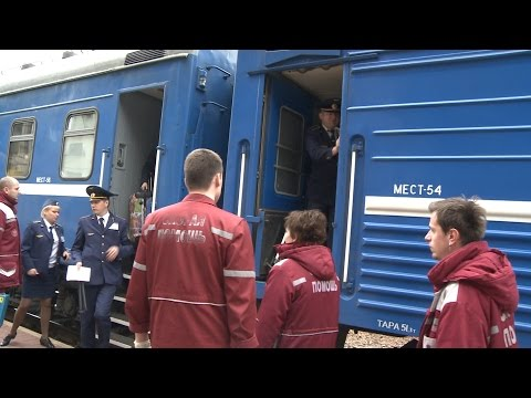 Попавший в аварию поезд Москва-Брест прибыл в Минск