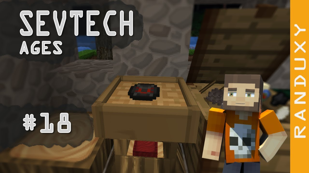 SevTech Ages: Minecraft - Ep 18 - Dark Gems for the win!