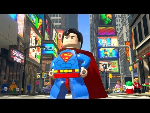 LEGO Marvel Super Heroes #59 - SUPERMAN E BATMAN AJUDANDO STAN LEE?