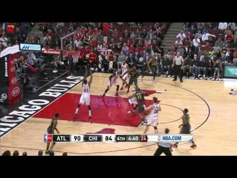 Atlanta Hawks vs Chicago Bulls | March 28, 2016 | NBA 2015-16 Season