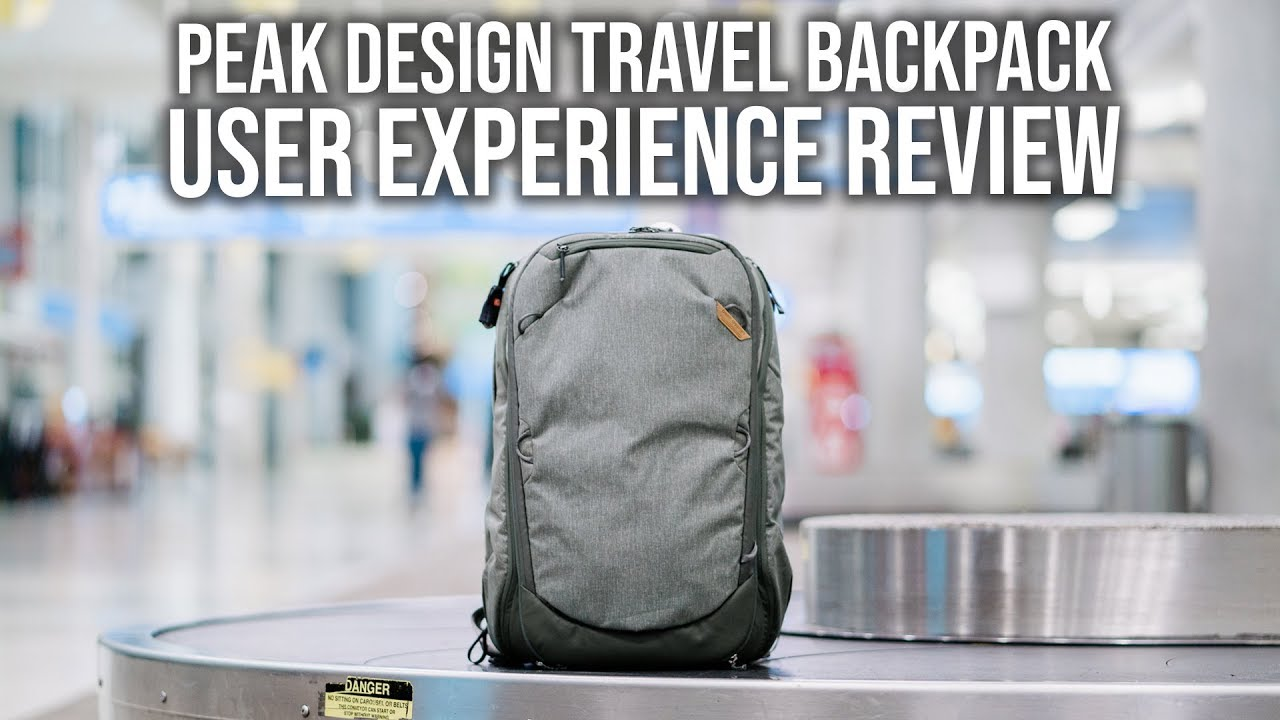 6d005fb258f7 Peak Design Travel Backpack 45L User Experience Review - YouTube