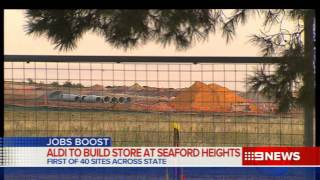 Aldi Plans | 9 News Adelaide