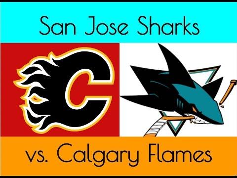 Vlog: San Jose Sharks vs. Calgary Flames