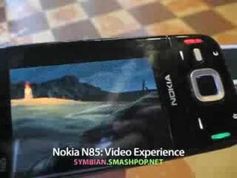 Nokia N85 : Video Experience