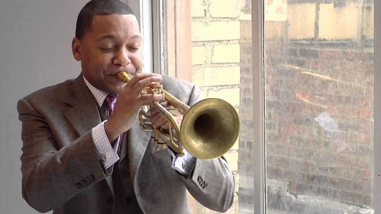 Wynton Marsalis Christmas Jazz Jam Photo Shoot Part I
