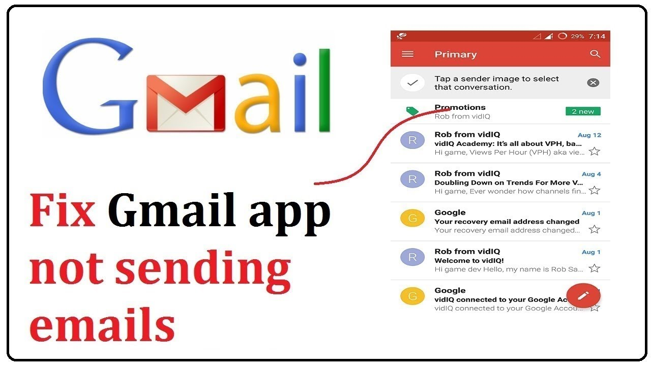 How to unsubscribe from emails on gmail app