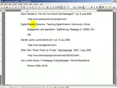 In Text Citations MLA style - YouTube