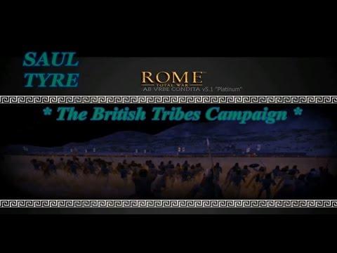 "Rome:Total War¬AB URBE CONDITA v5.1 ""Platinum""¬The British Tribes Campaign #1"